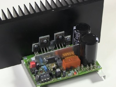 The Q-Watt Audio Power Amplifier