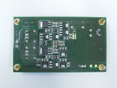 Receiver bottom view (PCB 160119-1 v1.0)