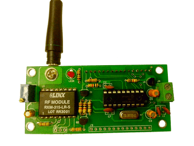 Back View (Antenna Connection)