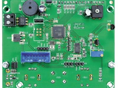 Control and display board.