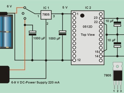 Bild 7: Power Supply für Offsetschaltung