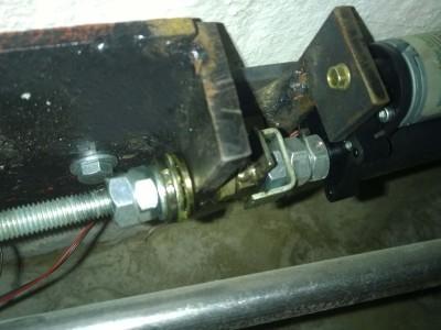 Aktuator 2 Motor, Klauenkupplung, Axialllager