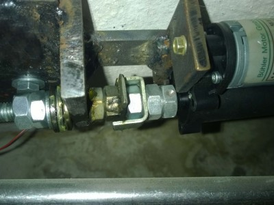 Aktuator 3 Motor, Klauenkupplung, Axiallager