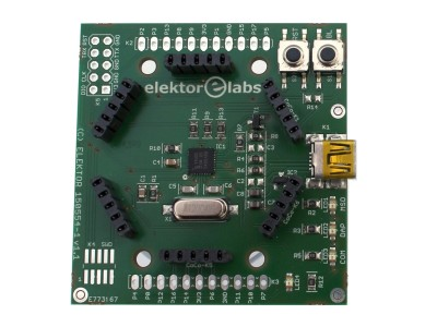 Elektor mbed interface [150554]