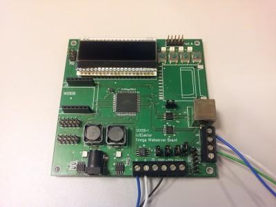 Xmega Webserver Board [120126]