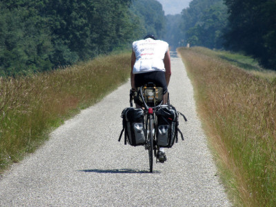 A GPS tracker for ultra-endurance cyclists