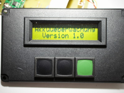 Akkuwächter / Battery Monitor <130273-I>