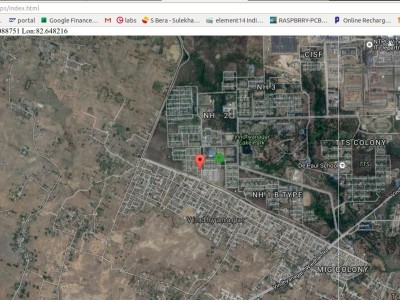 GPS HAB / Fleet tracker on Google map using LoRa