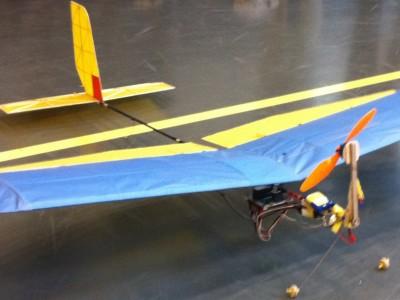 Model aircraft autopilot