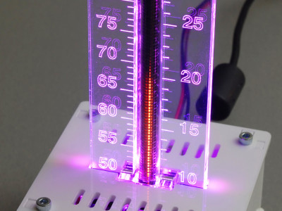 Nixie bargraph thermometer with Arduino