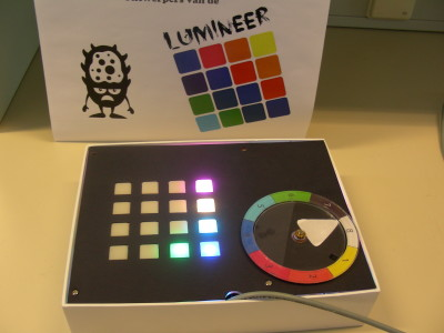 4x4 RGB led game: LUMINEER