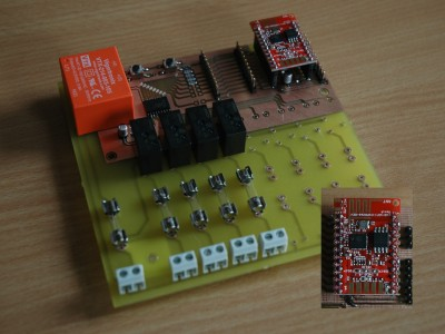 IoT Shed and Garden module using ESP8266
