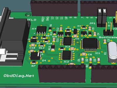 OBD Shield for Arduino