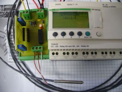 TEMPERATURE CONVERTER 0 - 100°C TO 0 - 10V