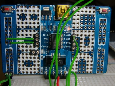 LPC810 as DCF77 decoder (and I2C slave)