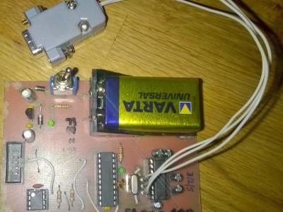 UART to I2C Converter via Attiny2313A