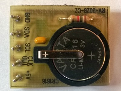 Highly accurate I2C clock and calender module [150101]