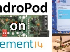 """Jetzt anmelden: GRATIS-Webinar """"AndroPod - Bridging Android and your electronics projects"""
