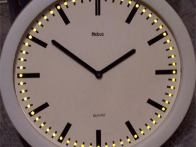 74xx LED clock