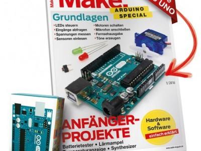 NEU: Arduino-Special inkl. Arduino Uno für nur 24,95 € (frei Haus)
