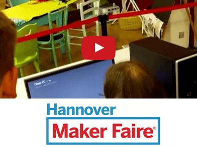 Schulklassen erobern die Maker Faire