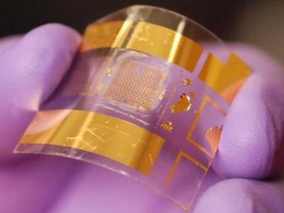 Biegsamer Transistor