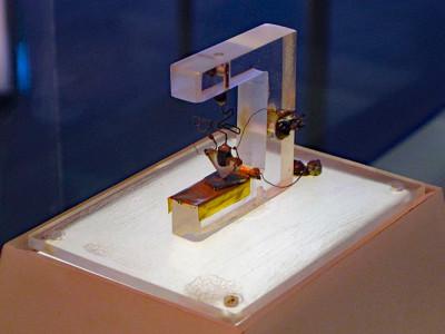 Vor 70 Jahren: Der erste Transistor der Welt