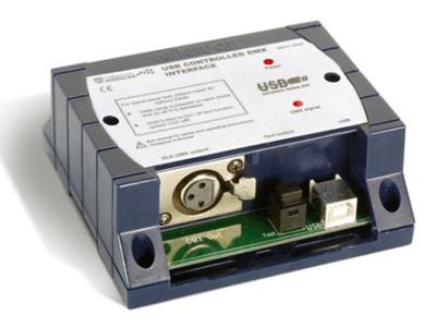 DMX-Interface mit USB im Selbstbau