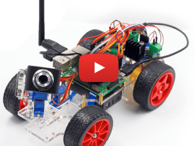 Smart Video Car Kit für Raspberry Pi