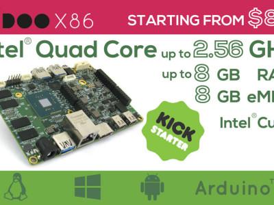 UDOOX86: 10x schneller als RPi 3!