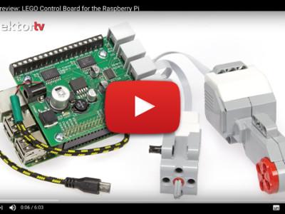 Motor-Control-Board von LEGO für Raspberry Pi