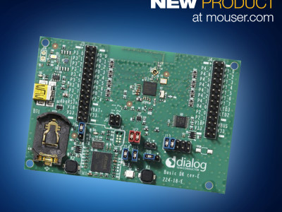 Develop Open Source Networking with Dialog's OpenThread Sandbox Platform, Now at Mouser