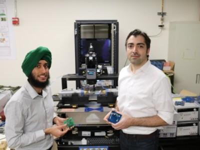 Ultraschall weckt kleine elektronische Geräte in IoT-Netzwerken auf