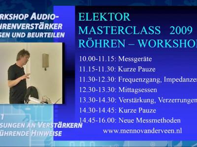 """Gratis für Elektor-Leser: Videokurs """"Audio-Röhrenverstärker 2"""" (Teil 1)"""