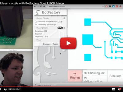 Squink: Drucker für Multilayer-Platinen