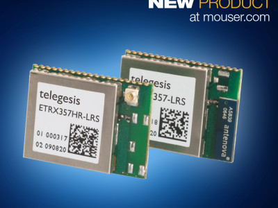 Reducing IoT Development Time with the Silicon Labs' Telegesis ETRX35x ZigBee Modules