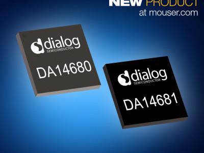 Mouser Electronics führt jetzt die Wearable-on-Chips 'SmartBond' von Dialog Semiconductor