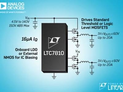 LTC7810: Schaltregler für höhere Spannungen