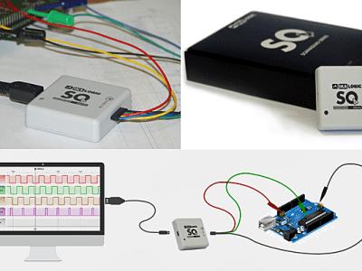 ScanaQuad: Logic Analyzer und digitaler Mustergenerator