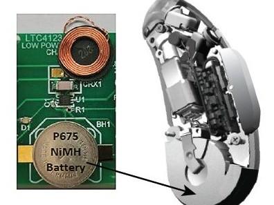 Mini-NiMH-Lader/Empfänger für Hörgeräte