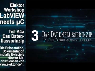 """Gratis für Elektor-Leser: Videokurs """"LabVIEW"""" (Teil 3)"""