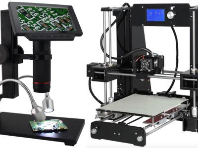 Die Gewinner des Anet 3D-Druckers und des Andonstar-Mikroskops