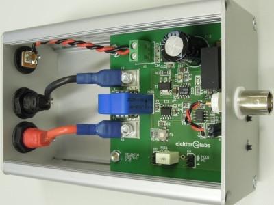 Top/Front Prototype Potentialfreie Strommessung für Oszilloskope (150170-1 v1.0)