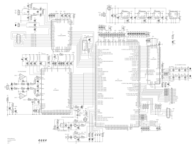 Schematic of FPGA DSP Board (150177-1 v2.0)