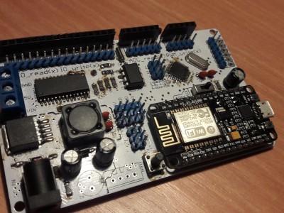 FInished Board using ESP8266