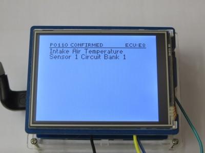 Single DTC Description Screen