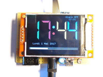 Clock completed