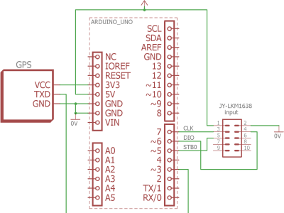 Schematic of first prototype