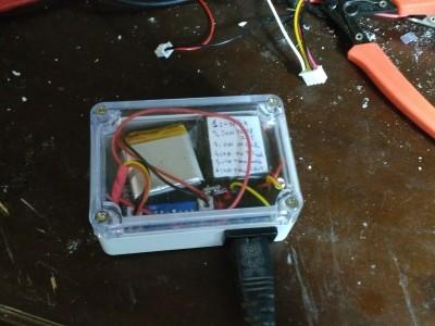 Internal temperature sensor