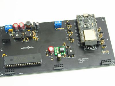 Main PCB with ESP-32-DevKitC module